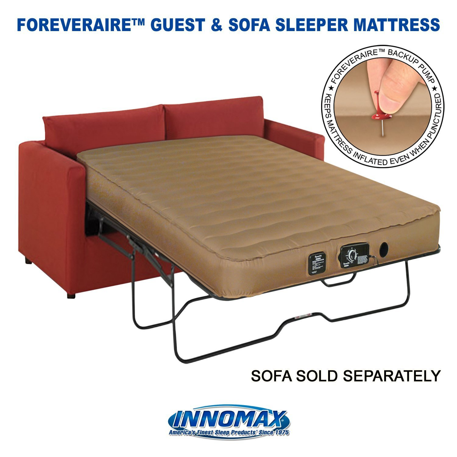 Amazoncom Inflatable Guest Mattress Sofa Queen Size Air Mattres