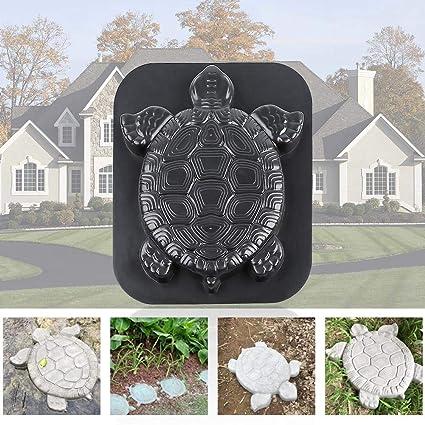 Schildkröte Beton DIY Gießform Pflasterform Schalungsform Garten Gehweg Pflaster
