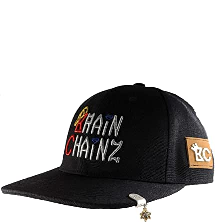 BrainChainz Jewelry Attachable to All Hats & 59FIFTY Baseball Caps - 1 & 3 Packs