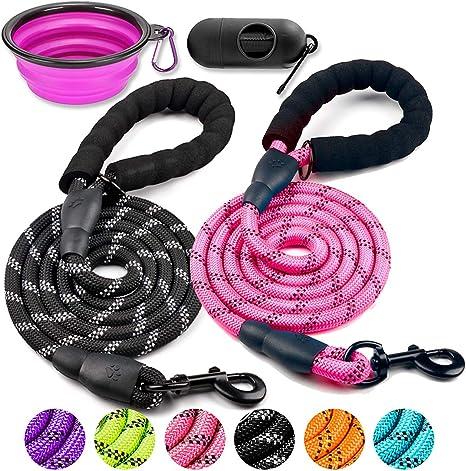 Reflective pet leash