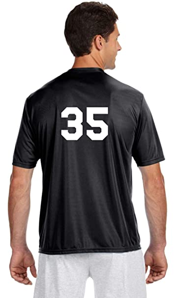 new product b9359 a1d3a Custom Numbered Performance wear Jersey Baseball Softball Soccer Uniform  Jersey Top Personalized