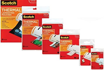 3m Laminating Pouch Kit With All Varieties Of Laminating Pouches Amazon Ca Office Products