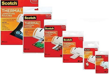 Amazon.com: 3M Kit para plastificar con todas las variedades ...