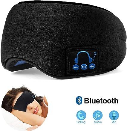 Amazon.com: Sleep Headphones Bluetooth Sleeping Eye Mask ...
