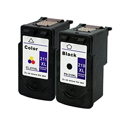 Compatible PG210 XL CL211 High Capacity 2 Pack Printer Ink Cartridge For CANON PG