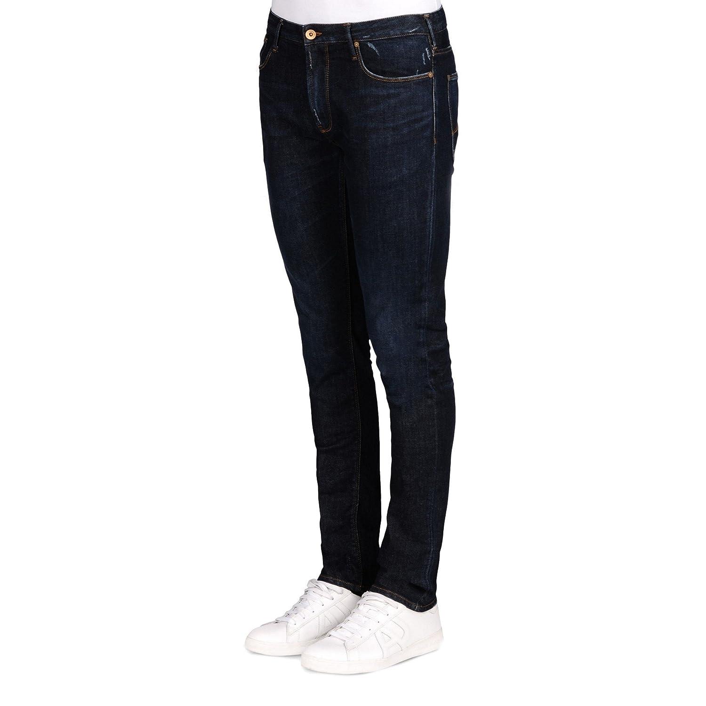& # xfeff, Denim Armani Men's Jeans 6?X 6j06?6d0bz + 1500?Blue Denim ig0076?X 6j06?-?6d0bz1500