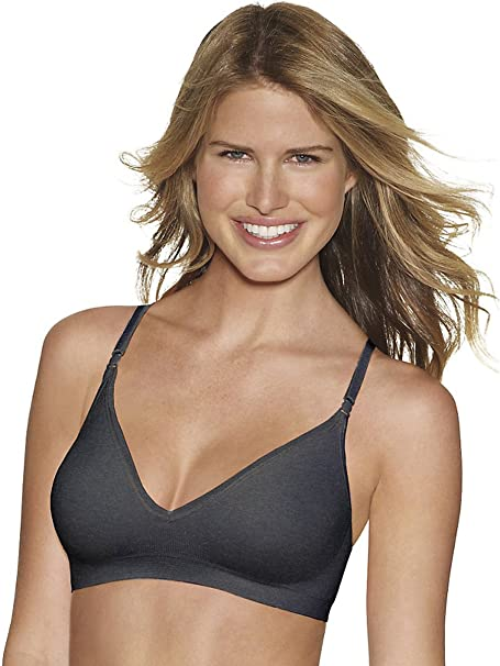 d94ab86d8 Image Unavailable. Image not available for. Color  Hanes Comfy Support  ComfortFlex Fit Wirefree ...