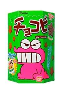 Chocobi Crayon Shinchan Star Shaped Chocolate Snack By Tohato From Japan 21g