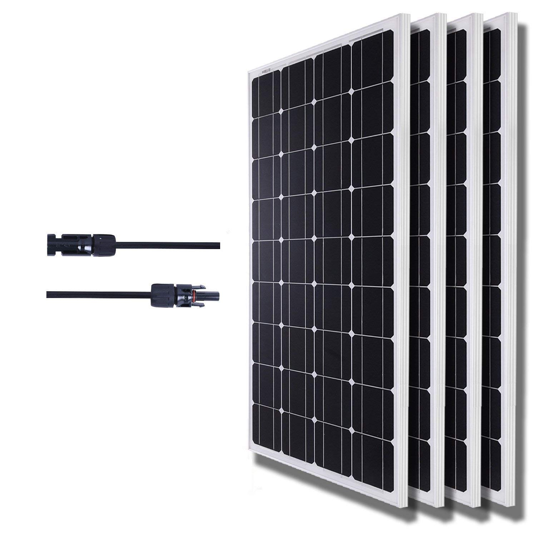 Komaes 400 Watts 12 Volts Monocrystalline Solar panel