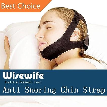 Correa de barbilla antironquidos, la solución prémium para dormir y evitar ronquidos, una ayuda