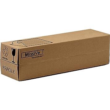 Bankers Box Missive - Caja para envíos de botellas extra resistentes, 5 unidades, color