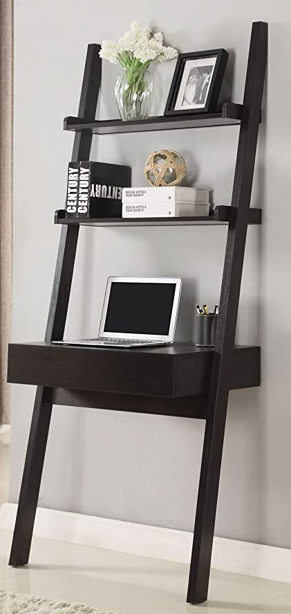 Coaster Furniture 801373 Cappuccino Ladder Desk