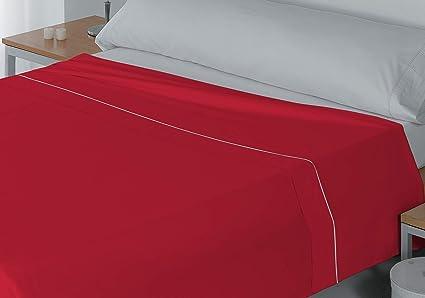 Lucena Cantos - Encimera Coordina, Colores Lisos (Rojo, Cama de 90, 180
