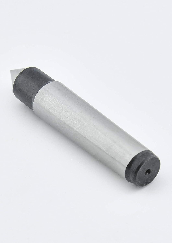 Earl Diamond Heavy Duty MT2 Live Center Precision 0.0002 Inch Precision Morse Taper Lathe Tool with 60 Degree Point