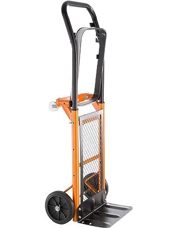 TecTake Carro plataforma de transporte manual Carretilla resistente hasta 80 kg
