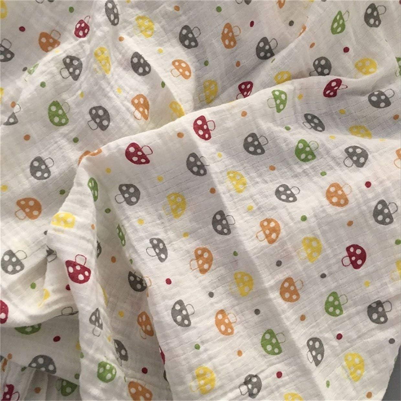 120 x 120 cm YUIO Manta para beb/é dise/ño de muselina
