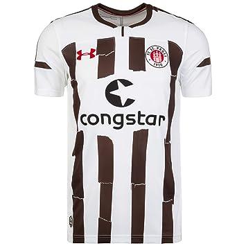 a7dc5f29 Under Armour FC St. Pauli visitante. Réplica Camiseta para Hombre,  1313659-101, Blanco/marrón, 3XL (3X-Large): Amazon.es: Deportes y aire libre