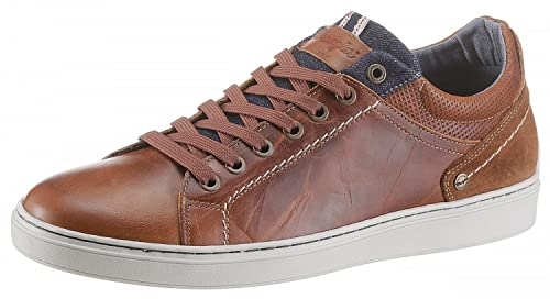 23d20f3371c42 WRANGLER Scarpe Uomo Sneakers Owen Derby in Pelle Marrone WM181060-64   Amazon.it  Scarpe e borse