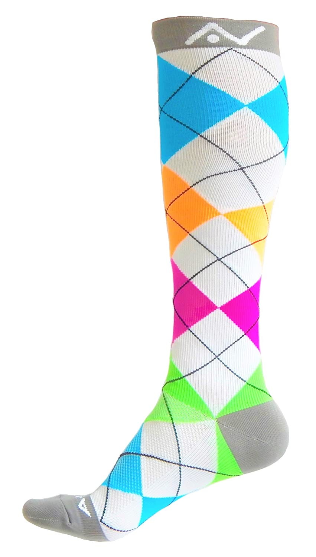 A-Swift Compression Socks Women & Men 20-30mmhg Best for Running, Athletic Sports, Crossfit, Flight Travel - Suits Nurses, Maternity Pregnancy - Below Knee High
