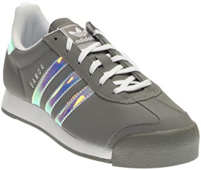 a283d9bdcb37 adidas Womens Samoa Athletic   Sneakers Grey