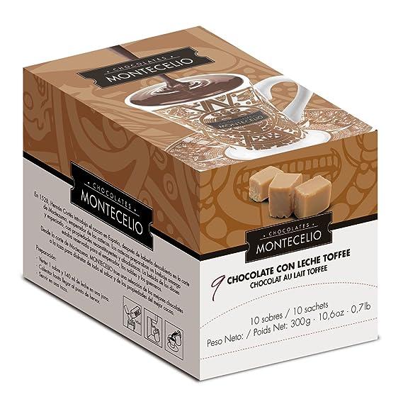 Montecelio - Chocolate a la Taza con Leche Toffee - Estuche ...