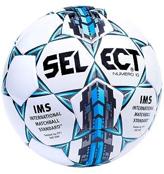 Select - Balón de fútbol para Adulto, Unisex, Color Blanco/Azul, 3 ...