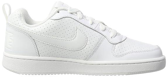 big sale 10c5f 498f8 Nike Mädchen Wmns Court Borough Low Basketballschuhe, Weiß, 36 EU, Weiß  (White/white White), 35.5 EU: Amazon.de: Schuhe & Handtaschen