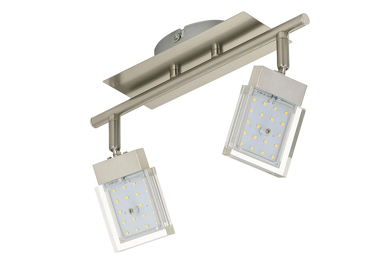 schwenkbar Deckenspot LED Lampe Spots Deckenlampe Wohnzimmer-Kinderzimmer-Schlafzimmer Briloner Leuchten LED Deckenstrahler Deckenbeleuchtung LED Strahler Deckenlampe Wohnzimmerlampe Deckenleuchte