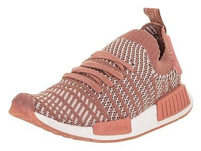 adidas Size 8.5 Women's Pink/White NMD_R1 STLT Primeknit Shoe - CQ2028