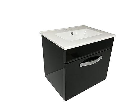Lavabo Con Mobiletto Sospeso : Starbath set mobile da bagno sospeso stol cm lavabo