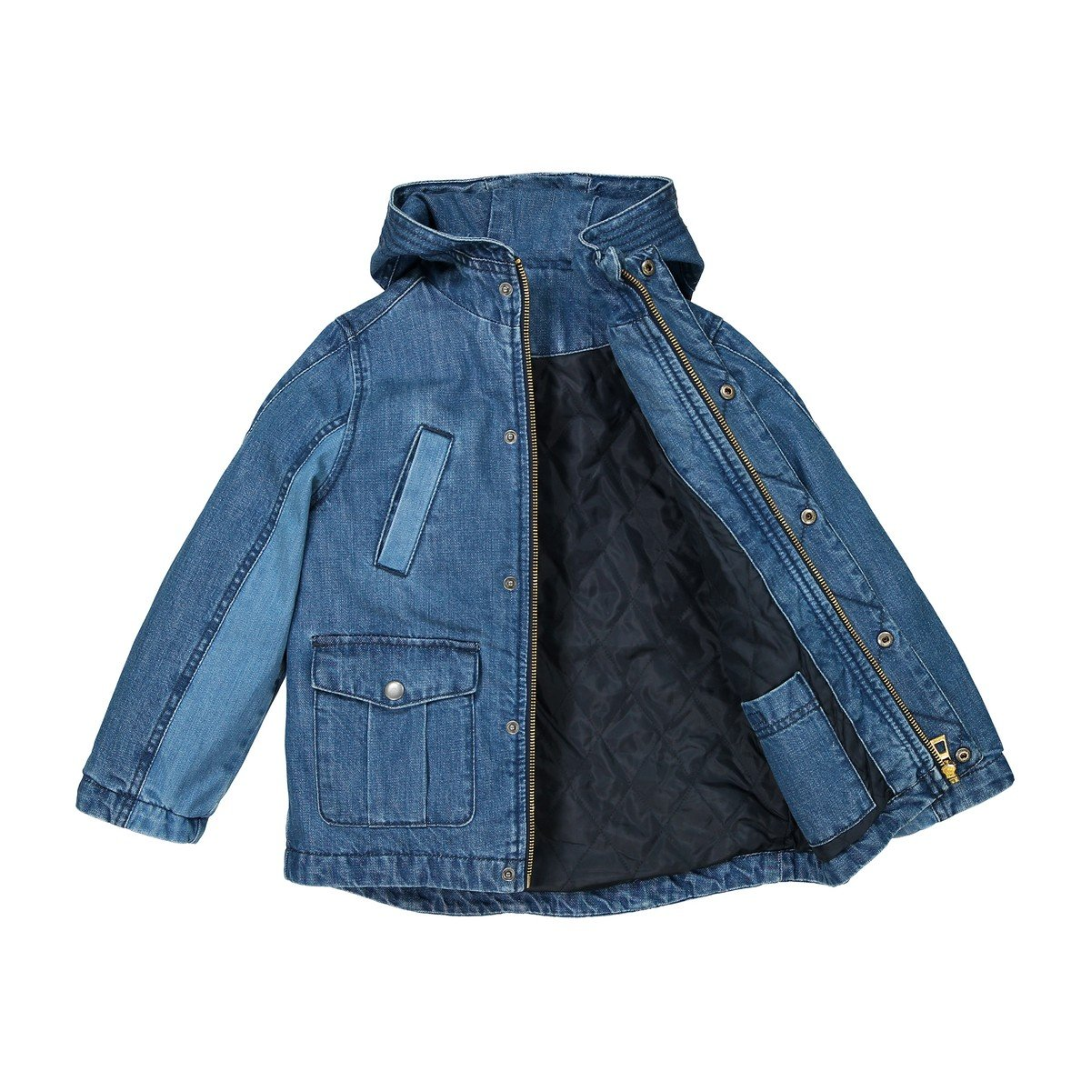 3-12 Years La Redoute Collections Big Boys Denim Parka