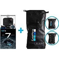 GoPro HERO7 Black Action Camera with Dry Bag (Bundle) - (CHDHX-701-BOX)