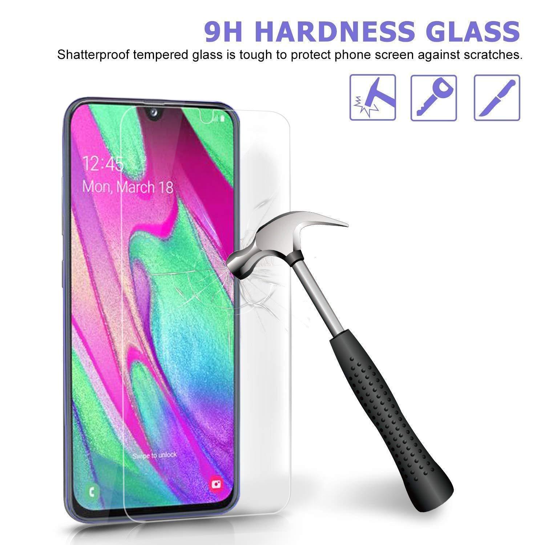 Ferilinso Verre Tremp/é pour Samsung Galaxy A40, Screen Protector Film Protection d/écran en Protection /écran Glass Screen Protector Vitre Tempered avec Garantie de Remplacement /à Dur/ée de 3 Pi/èces