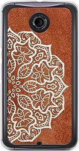 Loud Universe Nexus 6 Madala N Marble A Madala 2 Printed Transparent Edge Case - Brown
