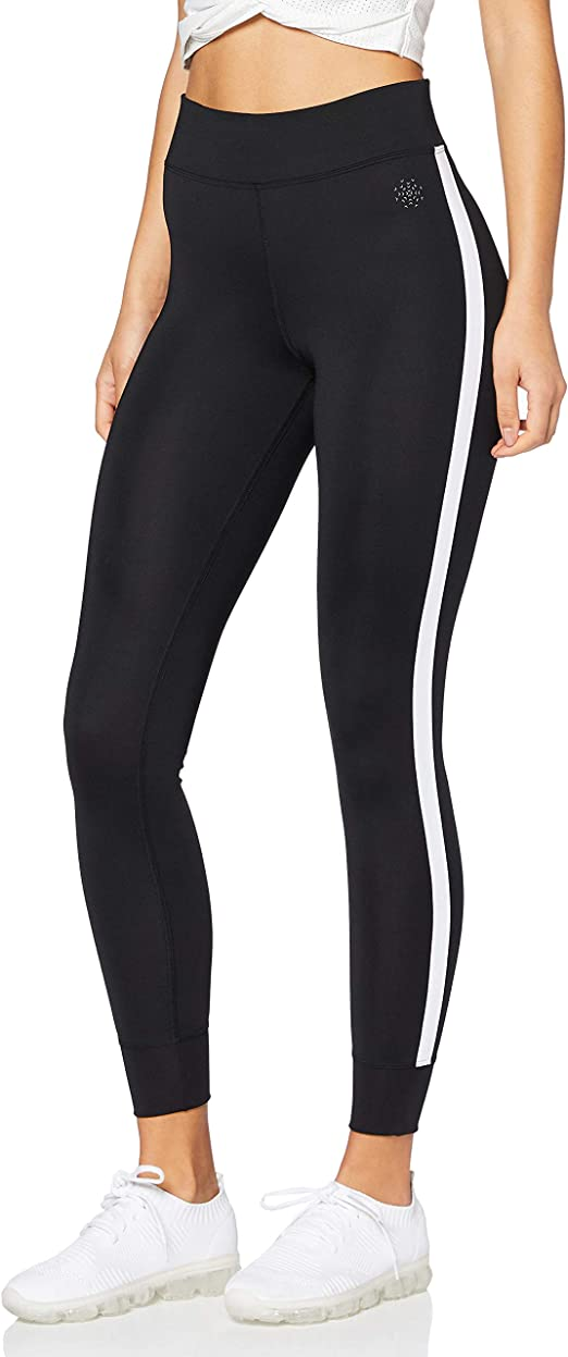 AURIQUE - Leggings de deporte con banda lateral
