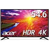 Acer 4Kモニター EB550Kbmiiipx HDR Ready対応/54.6インチ/IPS/半光沢/3840x2160/4K/16:9/300cd/4ms/HDMI/ミニD-Sub15ピン/DisplayPort