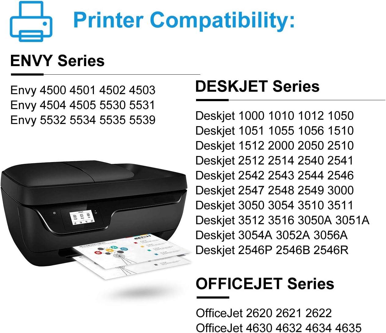 Amazon.com: RETCH Re-Manufactured HP Cartucho de tinta 61 ...