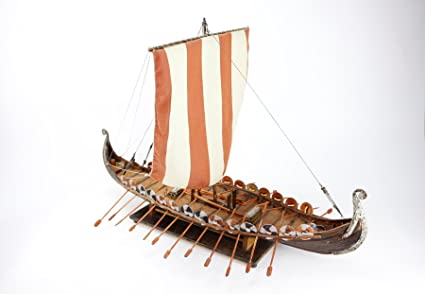 Vikingo Barco Hand Made 63x44 Modelismo Maqueta Naval ...
