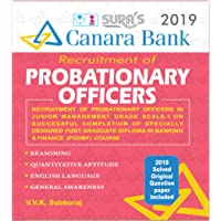 Canara Bank Probationary Officers ( PO ) Exam Books 2018