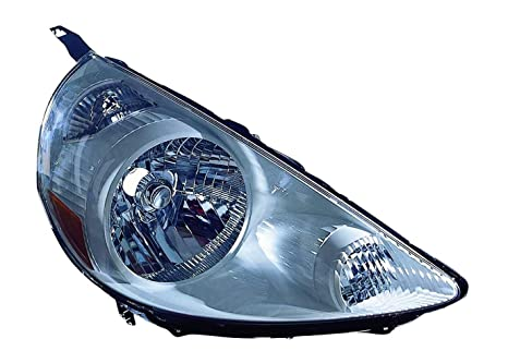 For 2007-2008 Honda FIT Passenger Side Headlight Head Lamp RH Black