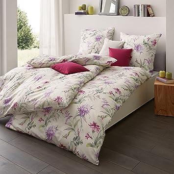 Estella Mako Interlock Jersey Bettwäsche 6155 060 Violett 135x200 Cm