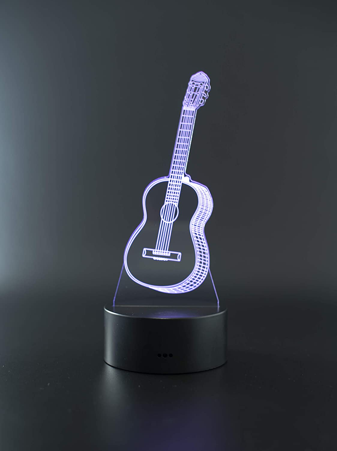 3D Optical Illusion Night Light 3D Illusion Lamp Child Variety 3D Led Hologram Illusion Night Light Replacement Bedroom Light Alarm Clock Shape Light Touch Switch Family Table Lamp