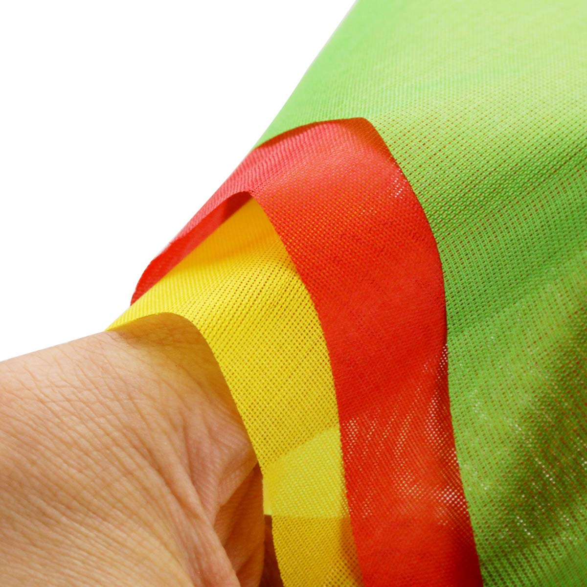 YaYuu 200 Bandiera Bunting Bandierine della Decorazione 80M Pennant Bandiere Tessuto Nylon Triangolo Bandiera per Festival Nozze Giardino Indoor Outdoor Birthday Party Decoration 260ft