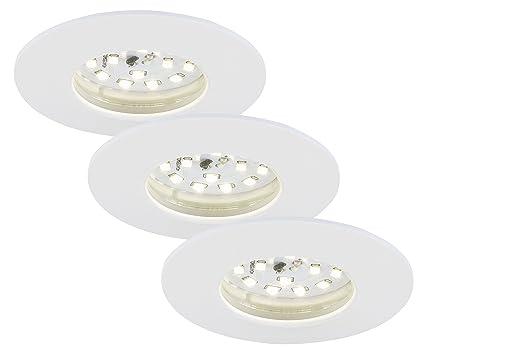 Briloner Leuchten 7231-036 LED Einbauleuchte, dimmbar ...