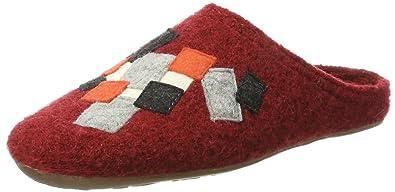 Everest Pixel, Pantoufles Mixte Adulte, Rot (Paprika), 38 EUHaflinger