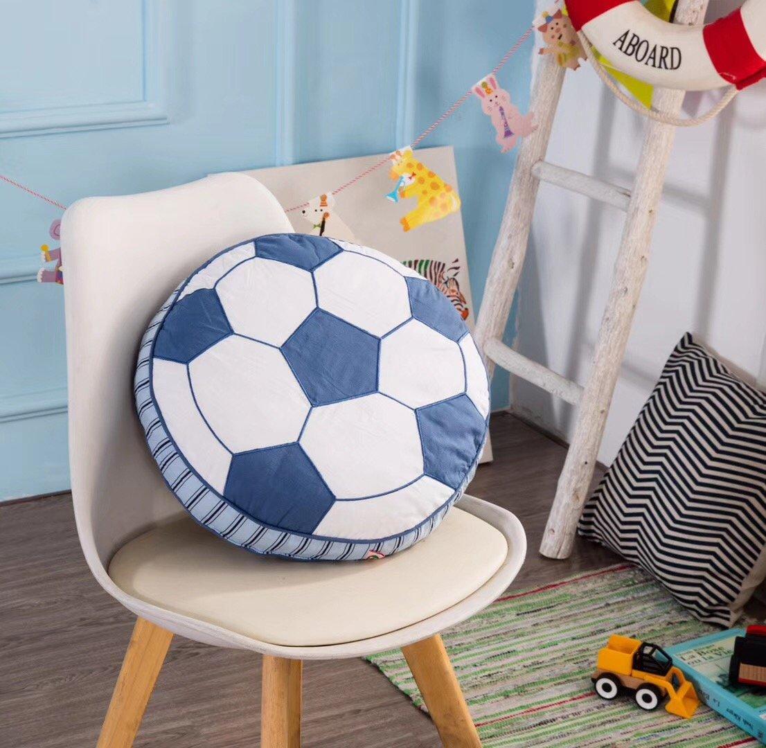 Brandream Boys寝具男の子枕かわいい子供のベッド枕男の子寝室装飾 標準 B07D57K389フットボール