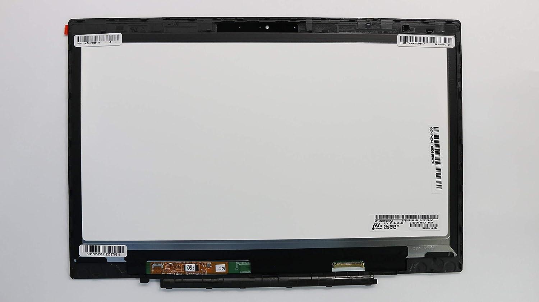 "JYLTK New Genuine 14"" WQHD (2560x1440) LCD Screen LED Display + Touch Digitizer + Bezel Frame Assembly for Lenovo Thinkpad X1 Carbon 3rd Gen FRU: 00NY405 00NY424 04X5488 00HN833 00HN842 00HN829"