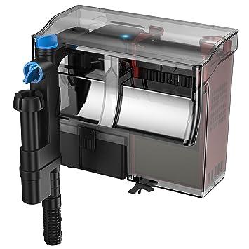 SunSun CBG-500 filtro mochila acuario 500 l/h 38-115L exterior colgante Hang On con UVC 5W: Amazon.es: Productos para mascotas