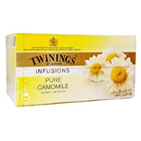 Twinings Of London Pure Camomile Infusion Tea, 25 bags
