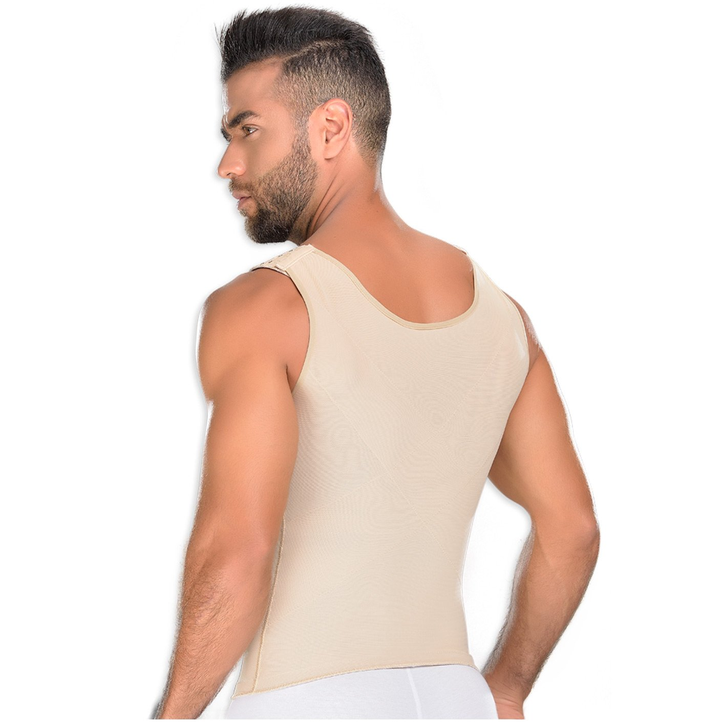 Faja Camisilla de Hombres Fajas MyD MYD 0060 Body Shaper Compression Shirt for Men